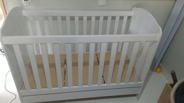 Berço 3em1 vira Mini cama Valor 400 - Foto 2