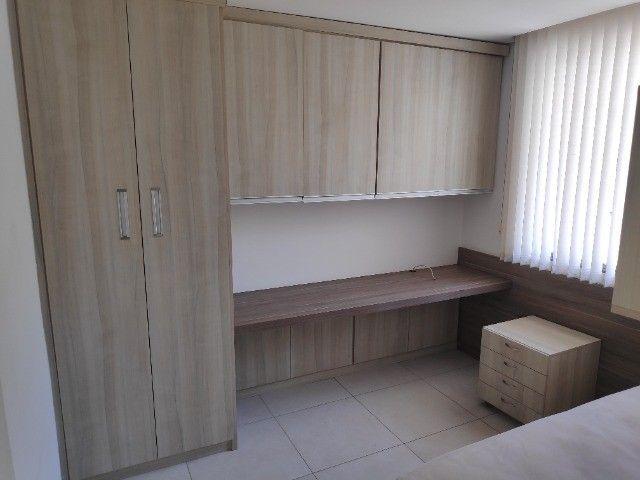 Apto Cobertura, suite e closed 3 quartos 3 banhos 2 salas área externa e 2 vagas cobertas - Foto 6