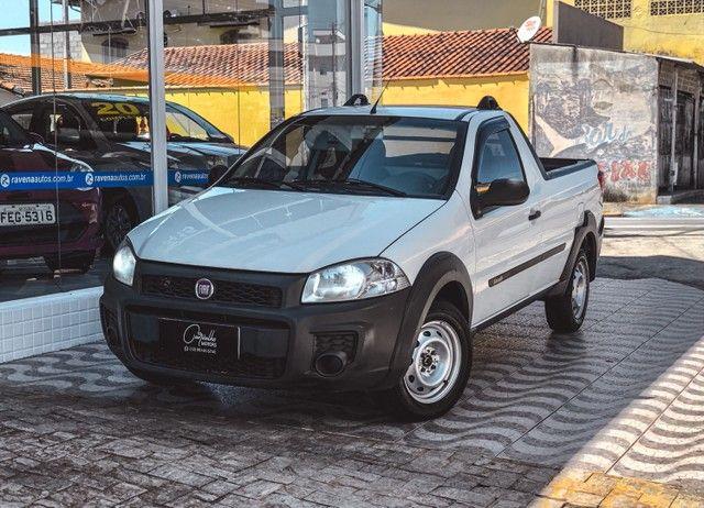 Fiat Strada Working CS 1.4 Flex 2015 IPVA 2021 PAGO!!!