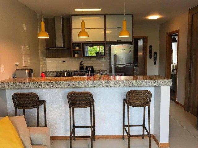 Apartamento cond. Solaris Imbassai com 2 quartos, 80 m² por R$ 505.000 - Imbassai - Mata d - Foto 4