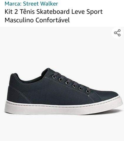 Vendo Kit 2 tênis  - Foto 5