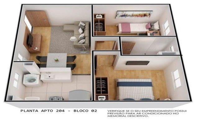 cidade de berlim, 2 dormitórios - Foto 2