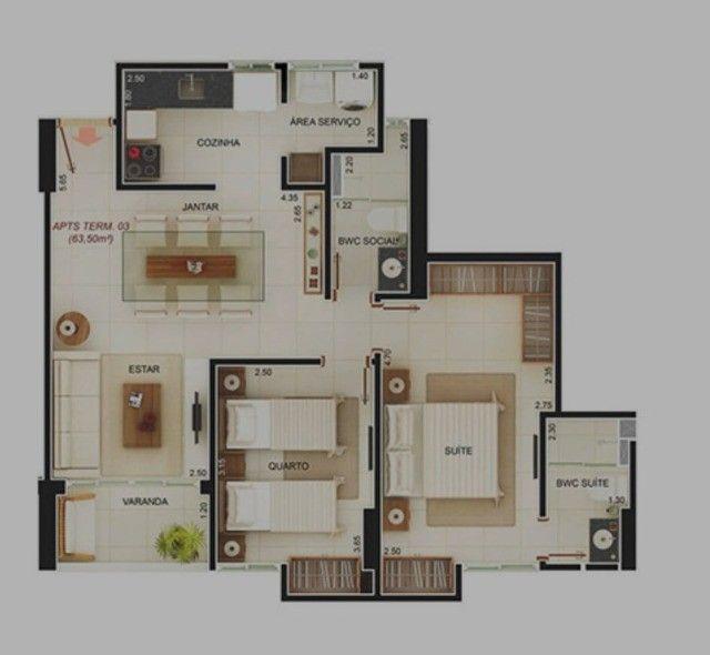Apartamento Bairro dos Estados 2 Quartos sendo 1 Suíte, Lazer R$ 360.000,00* - Foto 5