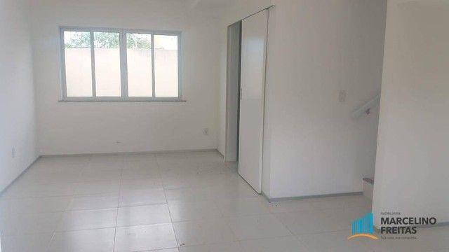Casa com 3 dormitórios para alugar, 104 m² por R$ 1.109,00/mês - Lagoinha - Eusébio/CE - Foto 9