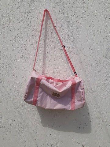 Bolsa mochila Chillibeans rosa bebê  - Foto 2