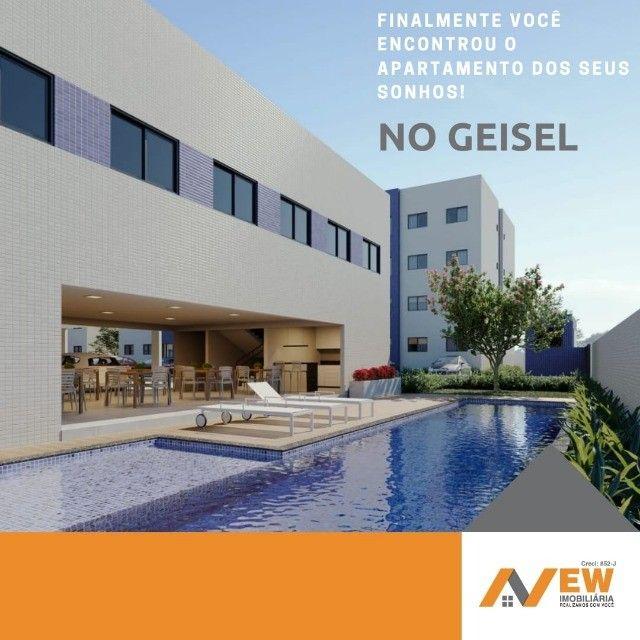 Venha morar na principal Geisel com uma estrutura fantástica, entrada facilitada!!!