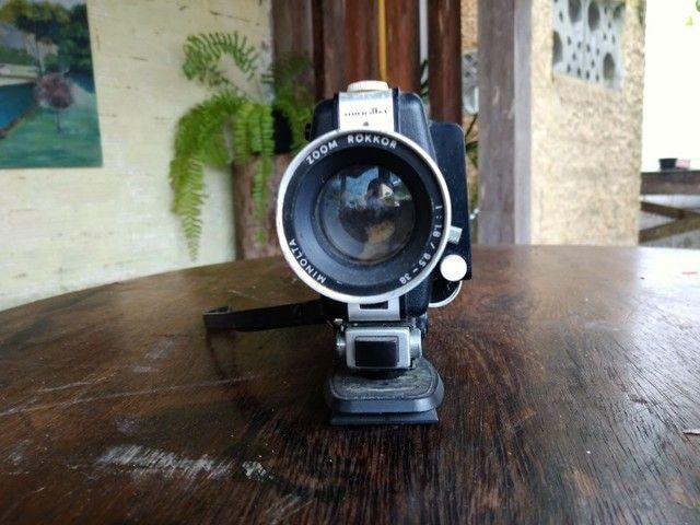 Câmera super 8 Minolta em excelente estado - Foto 4