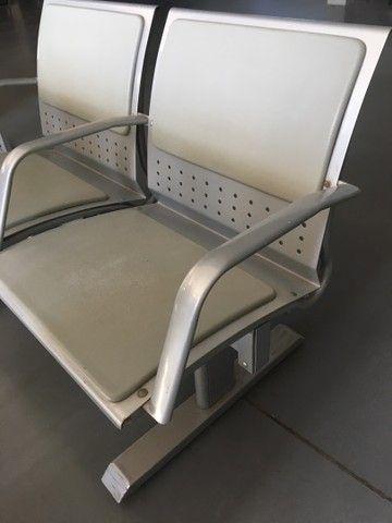 Longarina 2 lugares reforçada até 200Kg por assento  - Foto 3