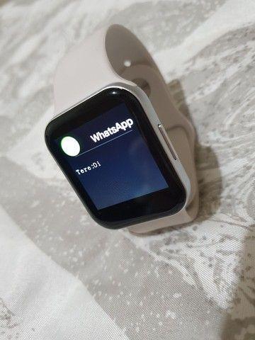 Relógio inteligente smartwatch P9 - Foto 3