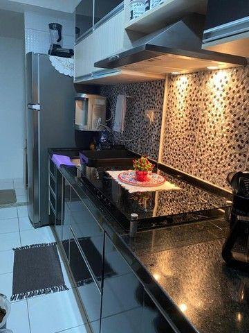 Apartamento 2/4 com Todos os Móveis Planejados - 55m² - Serraria - Foto 8