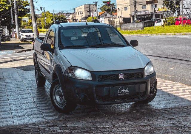 Fiat Strada Working CS 1.4 Flex 2015 IPVA 2021 PAGO!!! - Foto 3