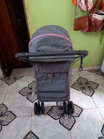 Carrinho de bebê feminino - Foto 3