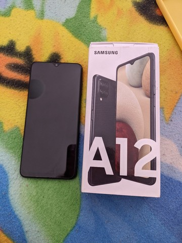 Samsung A12 SEMI NOVO(1 MÊS DE USO) - Foto 5
