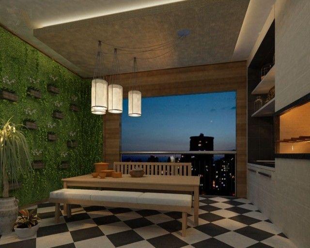 Lindo apartamento no Ed. Number One, novo, área condominial completa, bairro do Umarizal - Foto 12