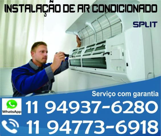 Instalação de Ar Condicionado Split com garantia