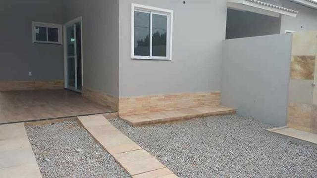 Casas planas novas com 3 quartos e documentacao inclusa Novo oriente