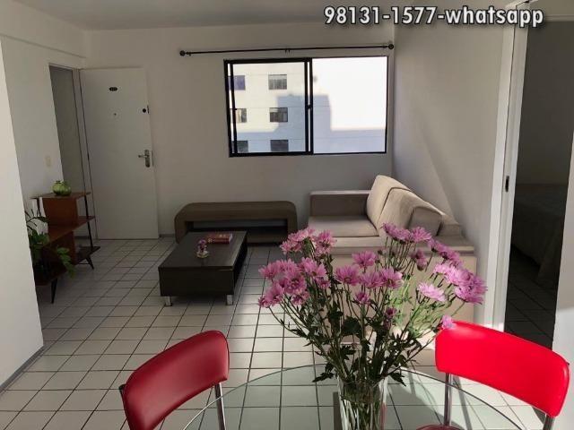 Apartamento 2 quartos, mobiliado nas Graças -2 vagas cobertas