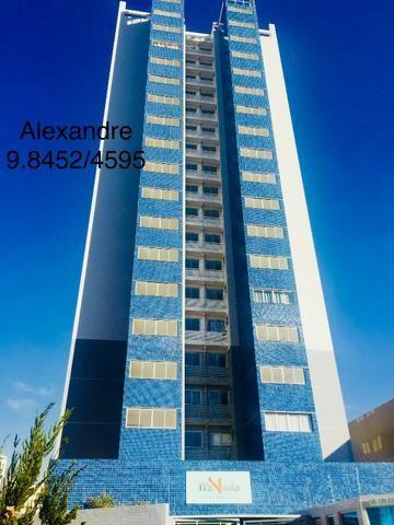 Apartamento de 03 quartos novo com suite todo no porcelanato Treviso proximo do metro