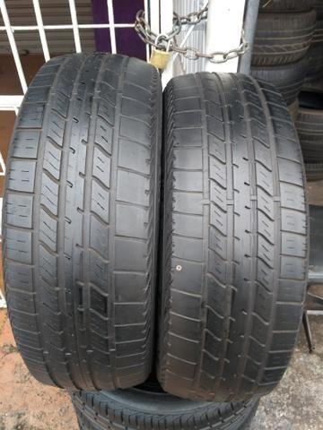 2 pneus 205/60/16 meia vida