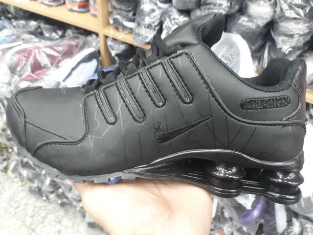 492a74e4baf Tênis Nike Shox Full Black Atacado e Varejo!