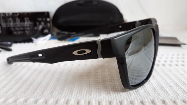 944e9991a Óculos Oakley Crossrange XL Preto/Prata Prizm - Importado e Novo ...