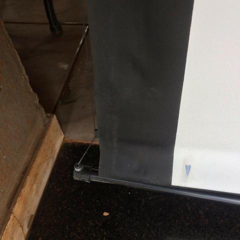 Tela Retrátil (telão) para projeção -Retrátil CSR-120 | 120 polegadas Home Theater - Foto 3