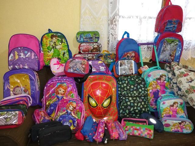 Lote de mochilas