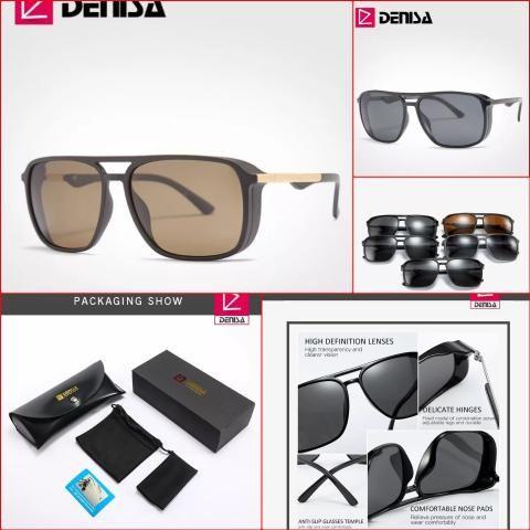 bastante agradable 7fedd 8eb24 Óculos de Sol com lentes polarizada e proteção UV400