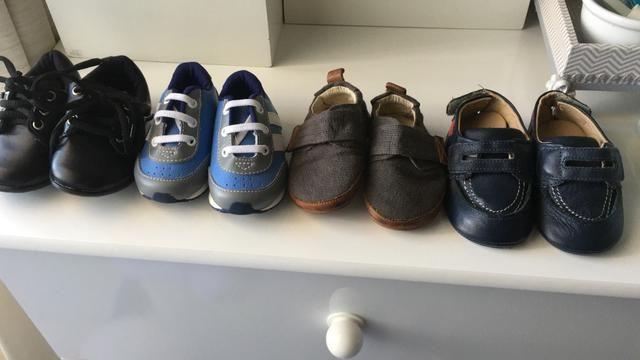 Lote Sapatos menino Novos