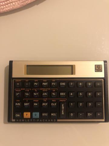 Calculadora Financeira HP12C Gold original