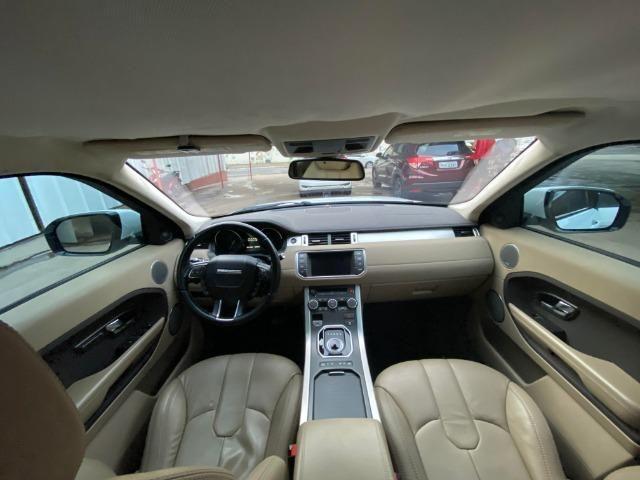 Range Rover Evoque Branca Interior Caramelo - Foto 5