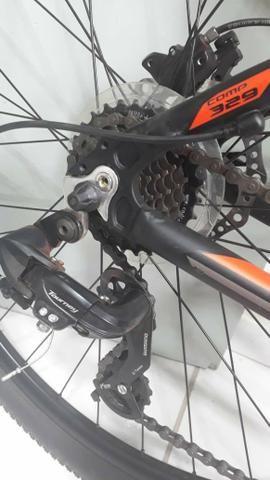 Bike aro 29 GTA freios hidráulicos Oportunidade - Foto 4