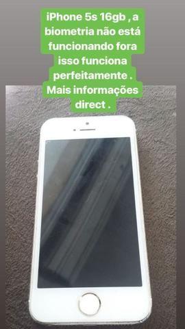 IPhone 5s R$300