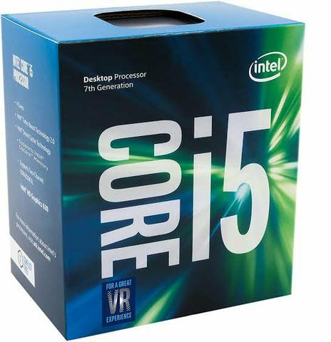 Processador Intel Core i5-7400 Kaby Lake, Cache 6MB, 3Ghz (3.5GHz Max Turbo), LGA 1151