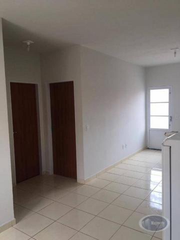 Casa com 2 dormitórios para alugar, 50 m² por r$ 650/mês - jardim maria imaculada i - brod - Foto 4