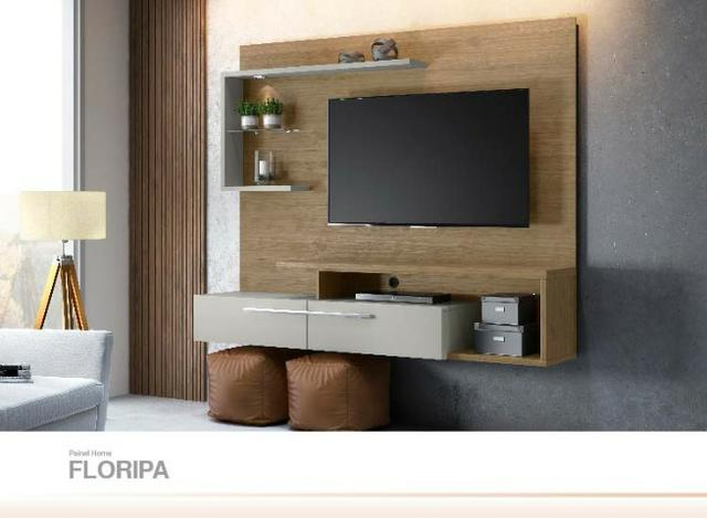 Painel para TV Floripa até 60 Polegadas com LED