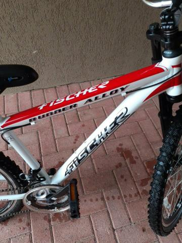 Bicicleta Fischer usada 3 meses - Foto 3