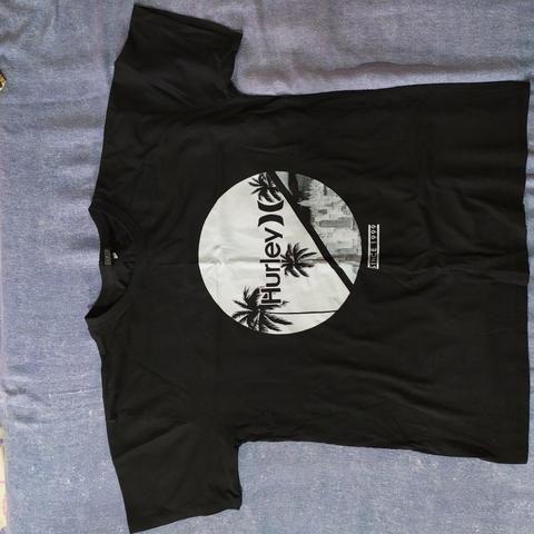 Camisa Hurley Preta