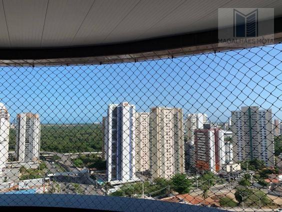 Apartamento com 3 dormitórios à venda, 127 m² por R$ 570.000 - Aldeota - Fortaleza/CE - Foto 4