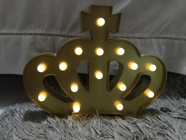 Luminária de Coroa