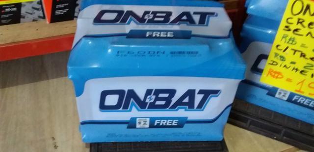 Baterias 210 reais semi nova ab de troca