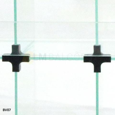 Baleiro de Vidro 0,60 x 0,45 x 0,15 Frete e montagem Gratis - Foto 4