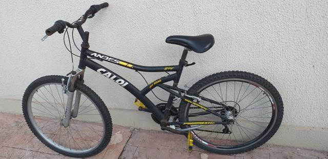 Bicicleta caloi aro 26 (PRA VENDER HOJE) - Foto 2
