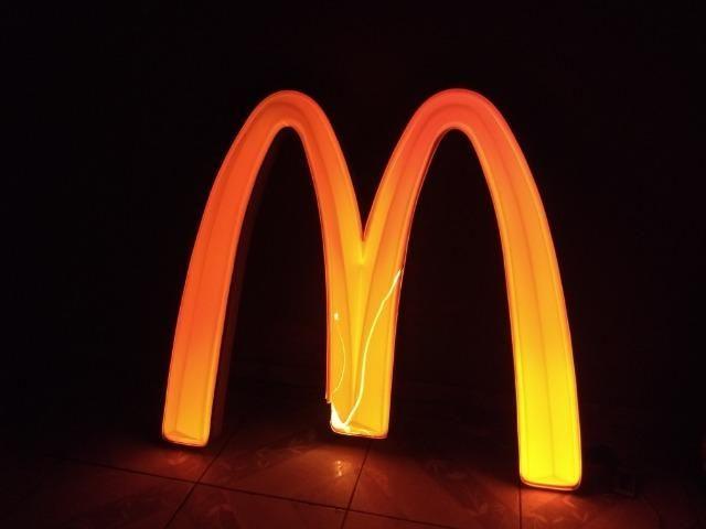Placa Luminosa McDonalds - Foto 2