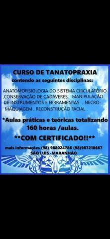 Curso de Tanatopraxia