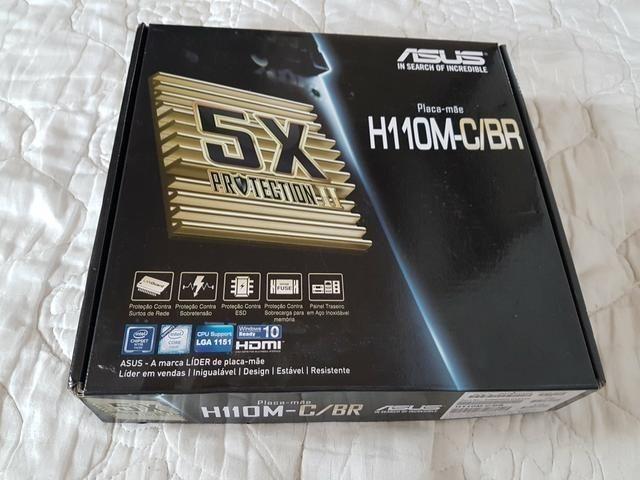 Kit Placa Mãe / Processador Intel G3900 2.80GHz