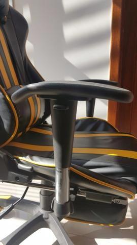 Cadeira de Escritório - Presidente Reclinável (Gamer) - Foto 6