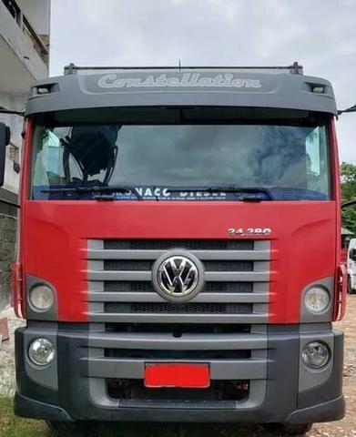Caminhão Volkswagen 24.280 Trucado - 2014 - 6x2 Com Baú