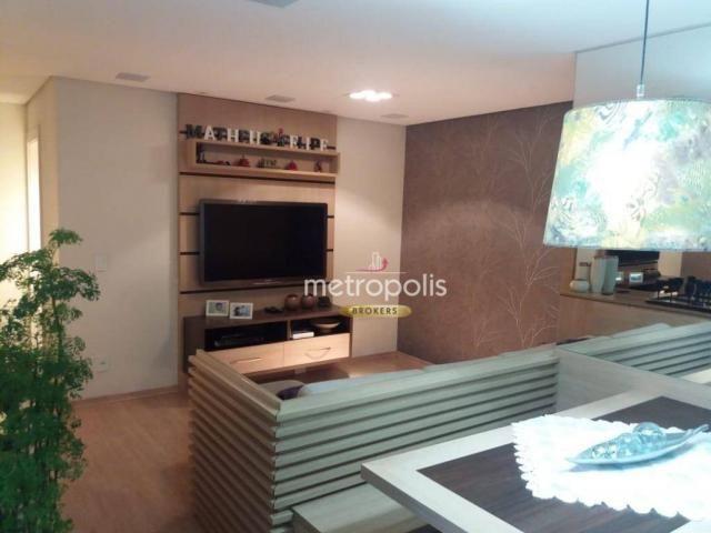 Apartamento à venda, 96 m² por R$ 655.000,00 - Santa Paula - São Caetano do Sul/SP