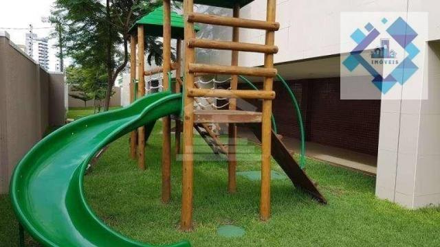 Apartamento com 3 dormitórios à venda, 112 m² por R$ 850.000 - Cocó - Fortaleza/CE - Foto 3